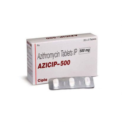 Azithromycine 500mg Cipla