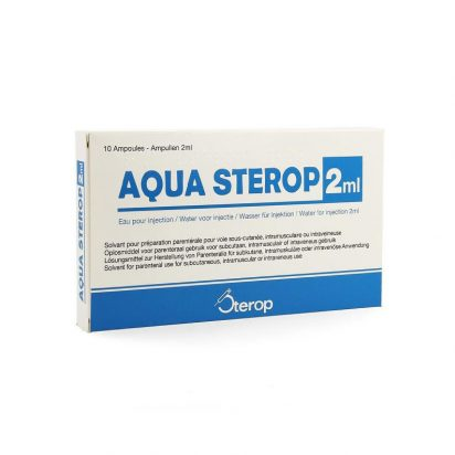 Bacteriostatic (Anti-Bacterieel) Water 2ml-10ml