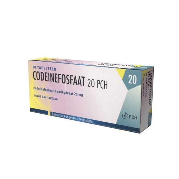 Codeïne Fosfaat 20mg