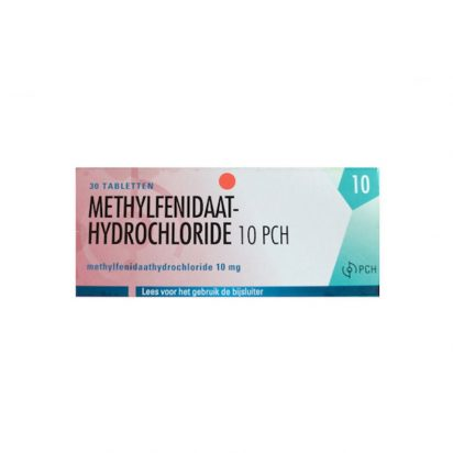 Methylfenidaat Ritalin 10mg - 30 Tabs